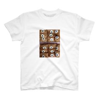 お稲荷ぐま T-shirts