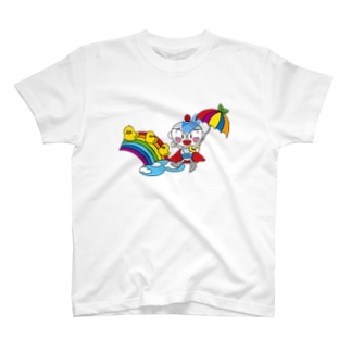 雨上がりのユーミーマン T-shirts