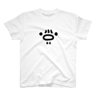 ぽんちえ劇場@YouTubeのチンの皺顔 T-shirts