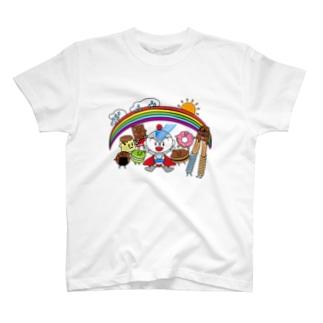 ユーミーマンとお菓子な仲間たち T-shirts