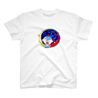 街を見守るユーミーマン T-shirts