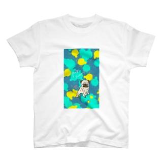 激しめパグちゃんTシャツ T-shirts