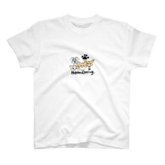 「保護犬カフェ支援」グッズ 集合 T-shirts
