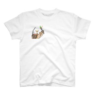 照れ鷹先生 T-shirts