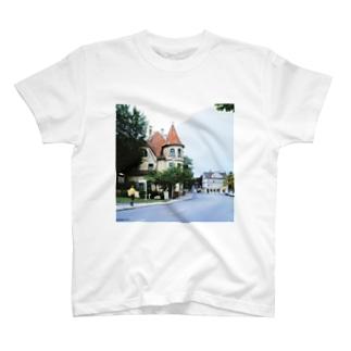 ドイツ:フュッセンの風景写真 Germany: view of Füssen T-shirts