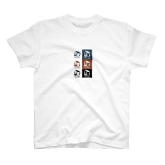 いえとくるまとマルチカラー スマホケース T-shirts