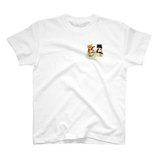まめしば釣り T-Shirt