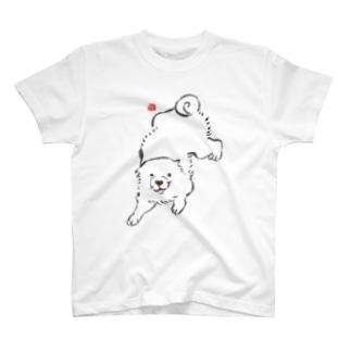 長沢芦雪の「あの犬」シリーズ T-shirts