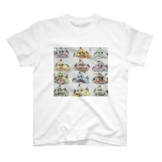 お魚おじさんTシャツ T-shirts