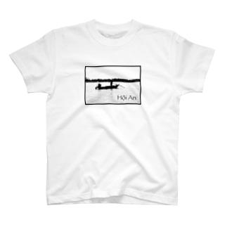 ホイアンのボート T-shirts