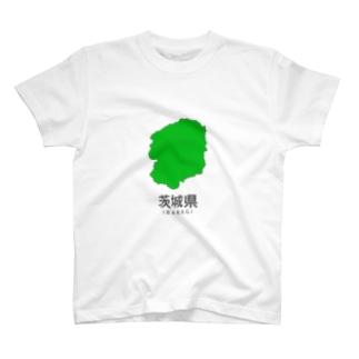 茨城県まちがい T-shirts