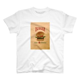 BURGER T-shirts