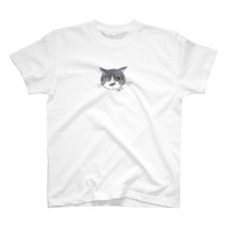 100nyans079.kota_fishcat T-shirts