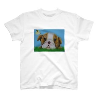 おひるねタイム T-shirts