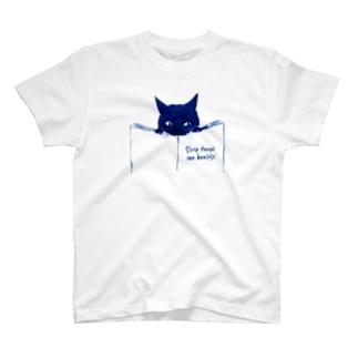 minachape STOREのあおねこ T-shirts