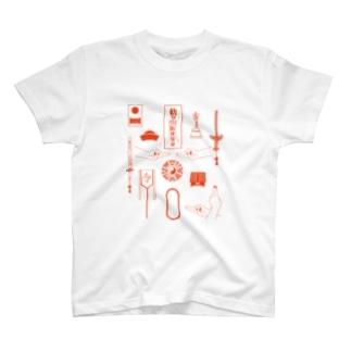 殭屍来了!【キョンシーが来るぞ!】  T-shirts