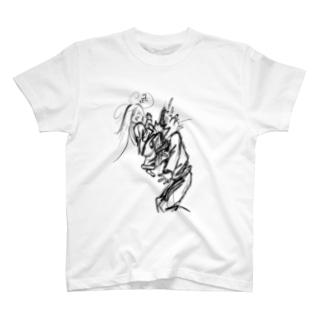 HIZAGERIMUSUME T-shirts