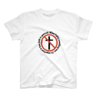 クロス レタリング オリジナルデザイン T-shirts