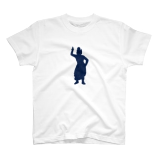 蔵王権現(紺) T-shirts