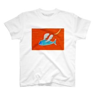 天使を夢見る魚 T-shirts