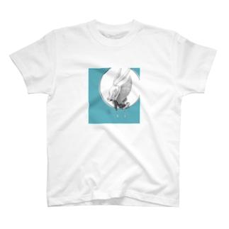 苔ttish!! feat.|neoFactoryのすり抜ける T-shirts