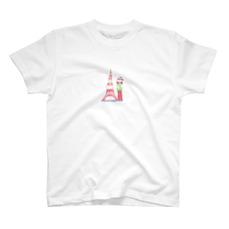 Tokyo tower T-shirts