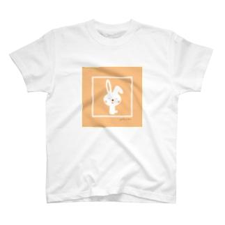 うさぎちゃん(ピンク) T-shirts