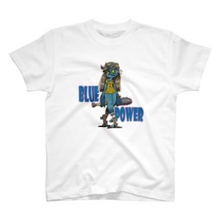 """""""BLUE POWER"""" T-Shirt"""
