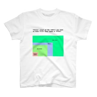 センサーサイズ T-shirts
