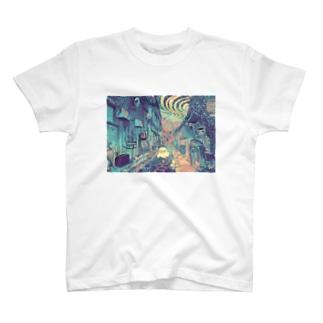 よりみちおばけ T-shirts