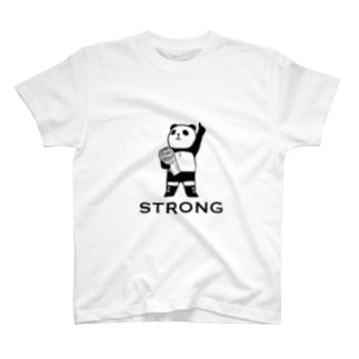 パンダプロレス チャンピオン T-shirts