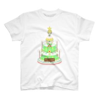 メレンゲドールの王子様とクリスマスケーキ T-shirts