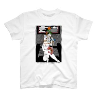 腹輝血 T-shirts