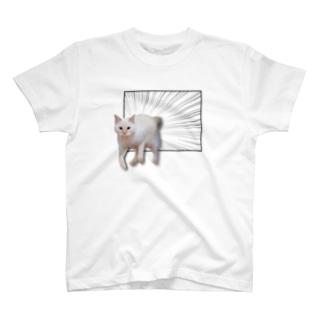 動物なのでとびだす!まりお T-shirts