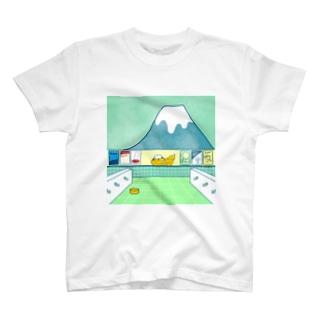 銭湯 レオパードゲッコー T-shirts
