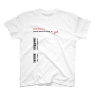 ぷぷぷ屋の【流出】 試作品の服(シロ) T-shirts