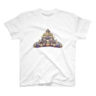悪運退散ラーフ神 T-shirts