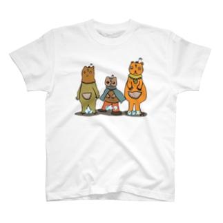 モンジャクシンズ御三家 T-shirts