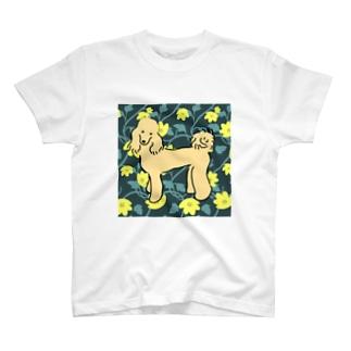 クロエちゃん(フラワー) T-shirts
