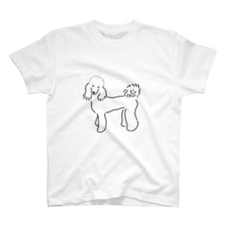 クロエちゃんグッズ(モノクロ) T-shirts