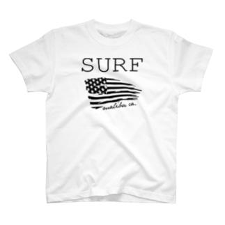 SURF in Malibu,CA T-shirts