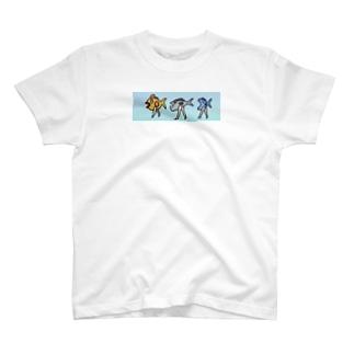 おさかな三銃士 T-shirts
