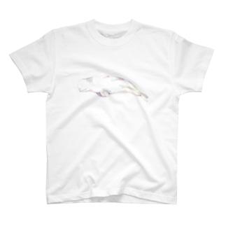 おだやかなベルーガ T-shirts