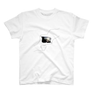 始発、岬にて T-shirts