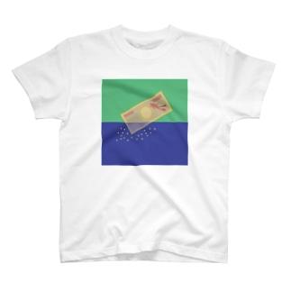 海溶性諭吉 T-Shirt