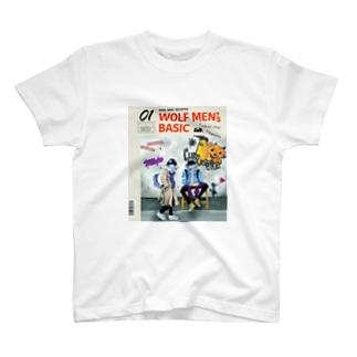01WOLF MEN'S BASIC T-shirts