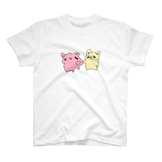 構われたくないうさぎ T-shirts