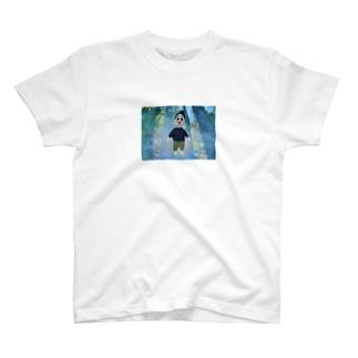 bikke 羊毛フェルトサティ森林浴シリーズ T-shirts