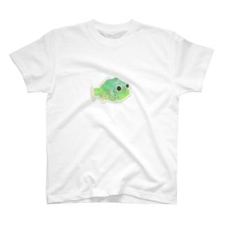 のこぎりはぎ「ガチャピョン」 T-shirts