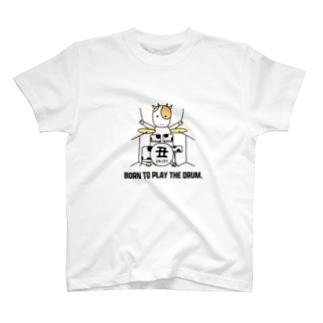 丑くんドラム T-shirts